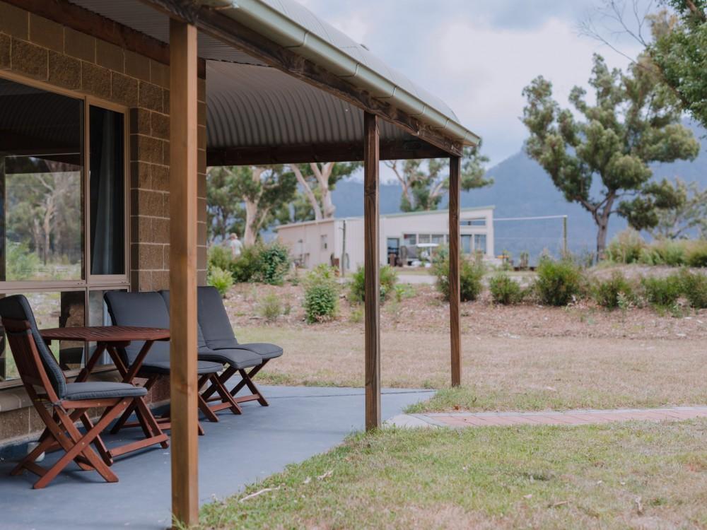 Kookaburra Cottage Verandah