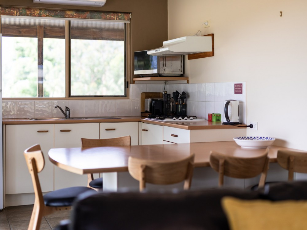 Kookaburra Cottage Kitchen